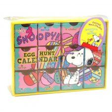 スヌーピー スヌーピー エッグハント カウントダウンカレンダー