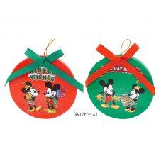 ディズニーキャラクター ミッキー&ミニー クリスマス オーナメントボックス