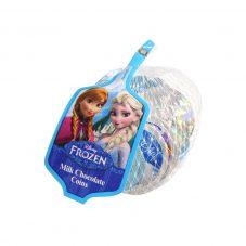 ディズニーキャラクター アナと雪の女王 ネット入りコインシェイプチョコレート