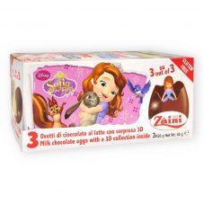 ディズニーキャラクター ちいさなプリンセス ソフィア チョコレートエッグ