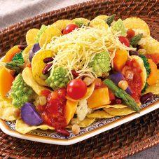 ナチョス ゆで野菜