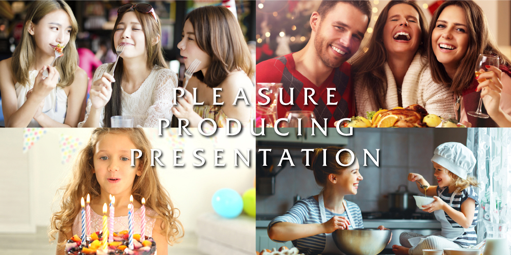PLEASURE PRODUCING PRESENTATION