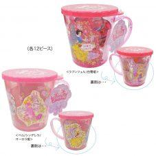 ディズニーキャラクター ディズニープリンセス 取っ手付きカップ