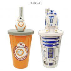 2018年ゼリー スター・ウォーズ ストロー付きカップ(BB-8、R2-D2)